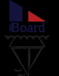 the board logo